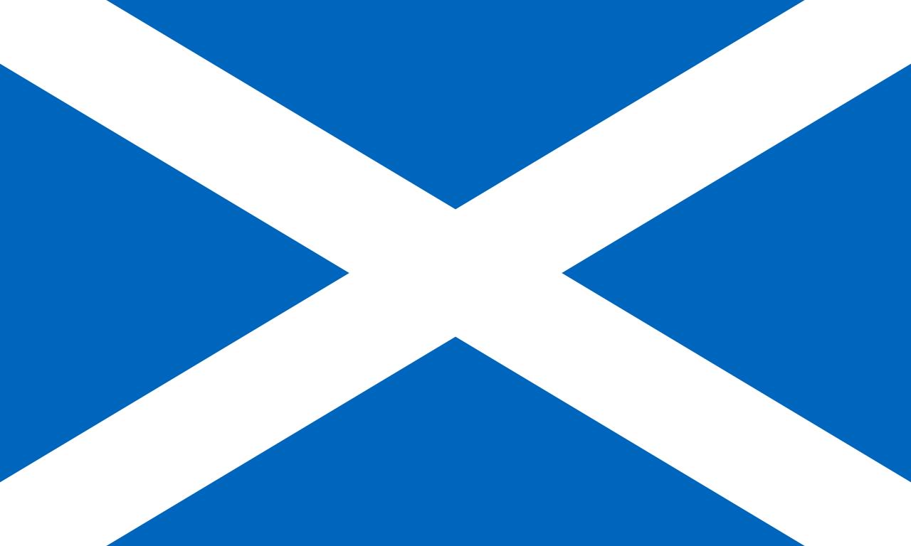 Scotland Calendar Range