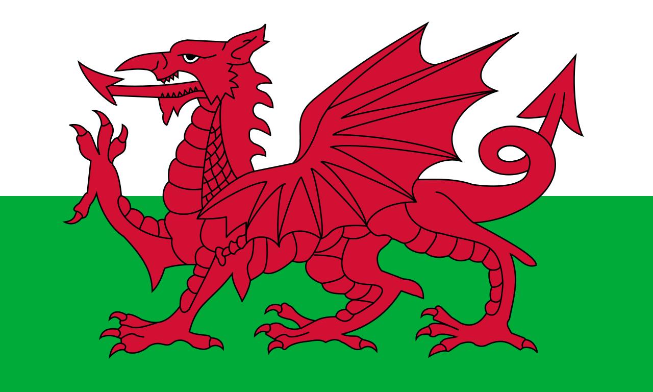 Wales Calendar Range