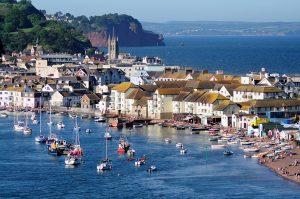 Beautiful Teignmouth in Devon